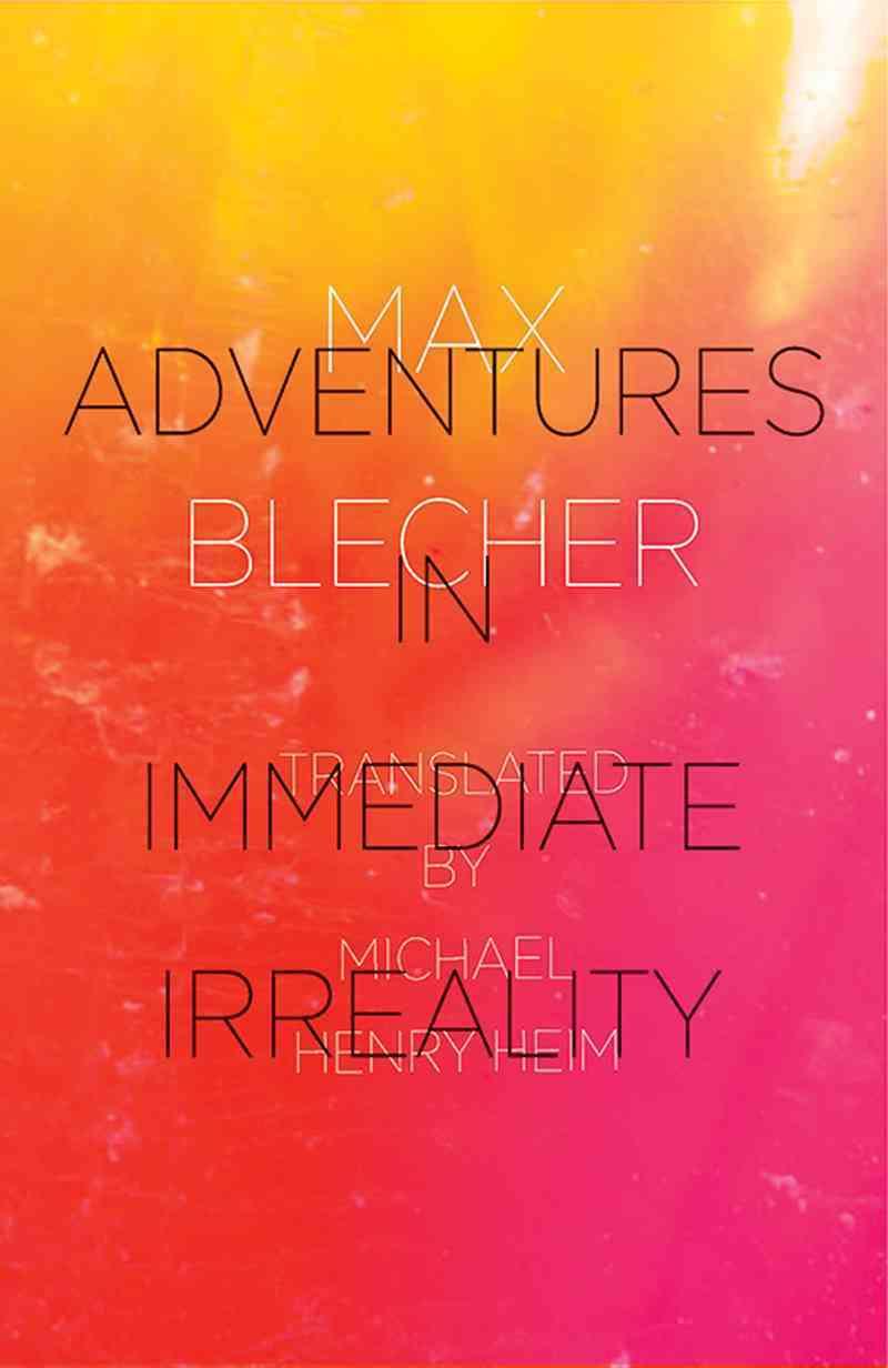 Adventures in Immediate Irreality By Blecher, Max/ Heim, Michael Henry (TRN)